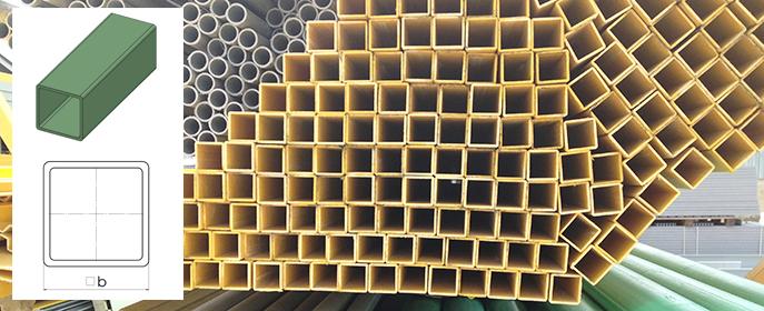 Стеклопластиковые квадратные трубы, изготовленные методом пултрузии, способны нести как вертикальные, так и горизонтальные нагрузки.